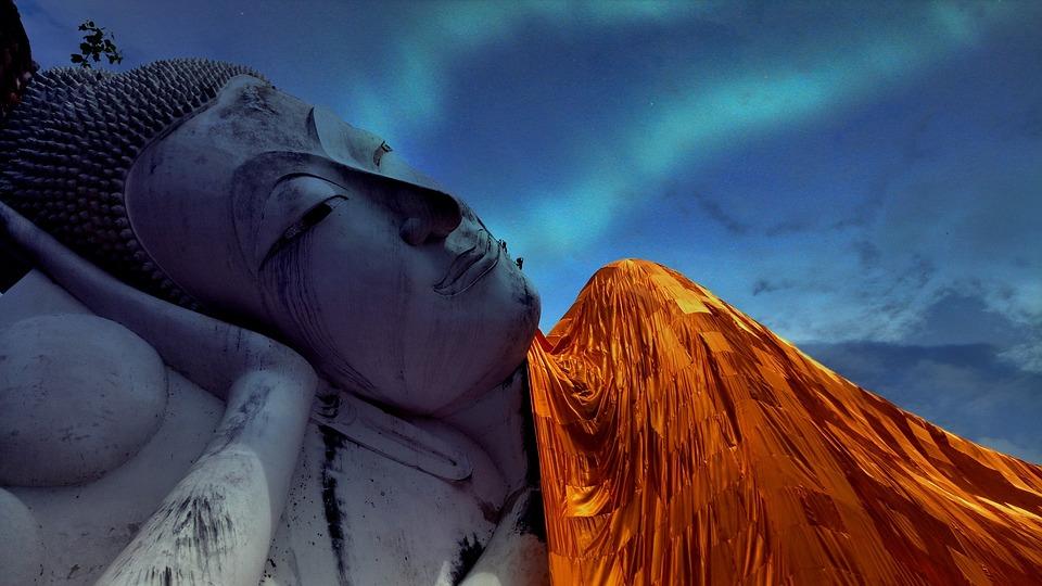 Liggende Boeddha, Wat Khun Inthapramun, Ang Thong