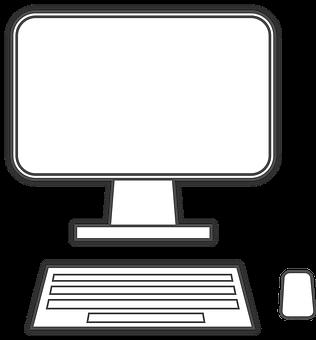 Equipo, Monitor, Teclado, Del Ratón