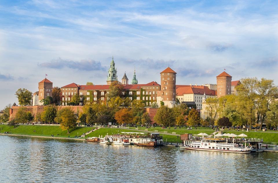 Cracovia, Wawel, Castello, Architettura, Polonia