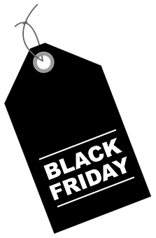 Black Friday, Discounts, Discount, Label