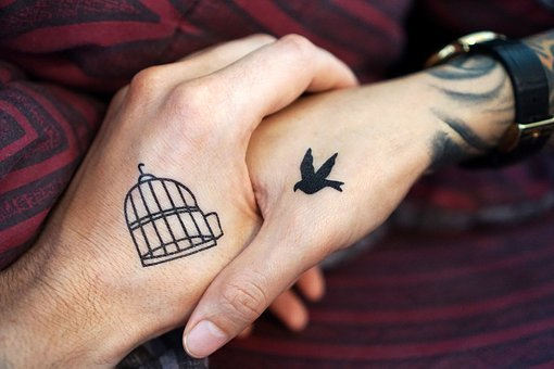 Tattoo, Hand, Hands, Couple