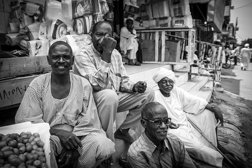 Friends, Khartoum, Sudan, People