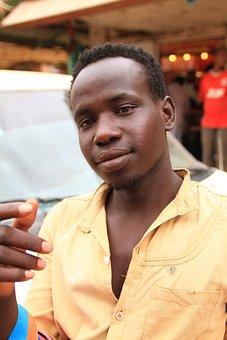 Sudanese, Man, Person, Sudan, Africa