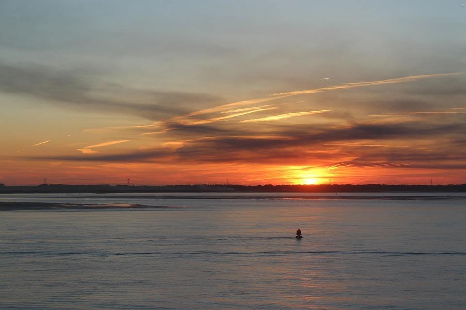 Ocean Matahari Terbenam Langit Foto Gratis Di Pixabay