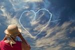 heart, sky, heaven