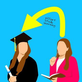 Graduation, University, Women