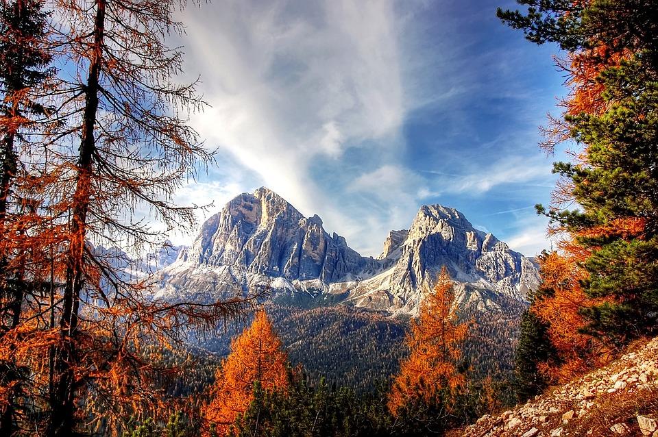 Доломиты, Горы, Италия, Альпийский, Открыть, Природы