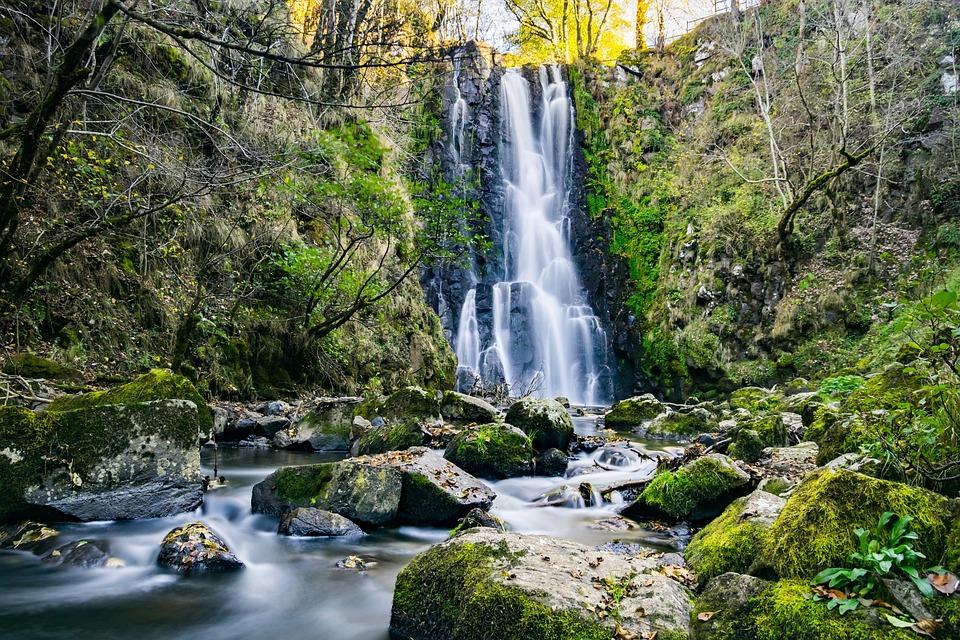 cascade fall river free photo on pixabay