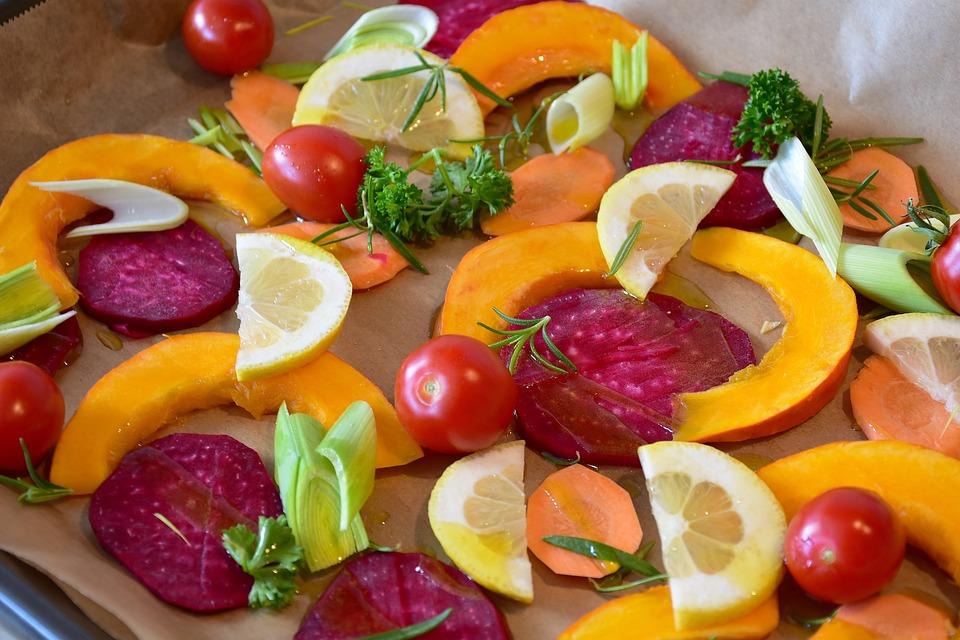 Verdure, Zucca, Hokkaido, Barbabietola Rossa, Limone