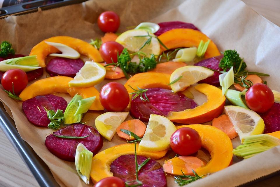 Verdure, Zucca, Barbabietola Rossa, Hokkaido, Limone