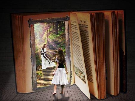 Libro, Sueño, De Viaje, Fantasía