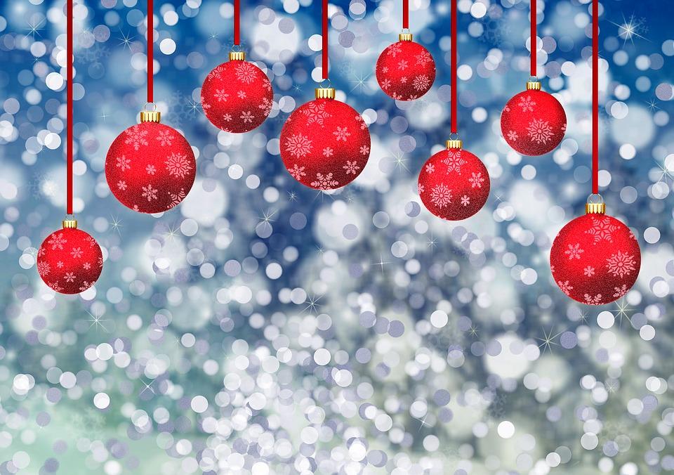 weihnachtskugeln bokeh kostenloses bild auf pixabay. Black Bedroom Furniture Sets. Home Design Ideas