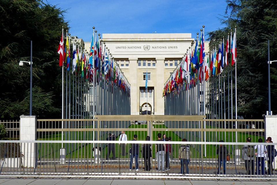 Suisse, Genève, Palais, Des, Nations
