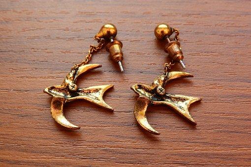 Золотые серьги - купить серьги из золота в интернет-магазине..