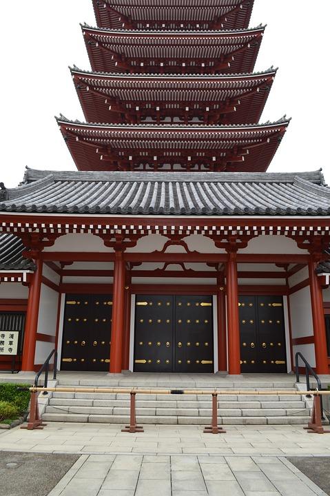 Japan Temple Asia Eastern East Spirituality Zen