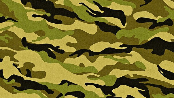 Texture, Camo, Soldier, Surface, Green