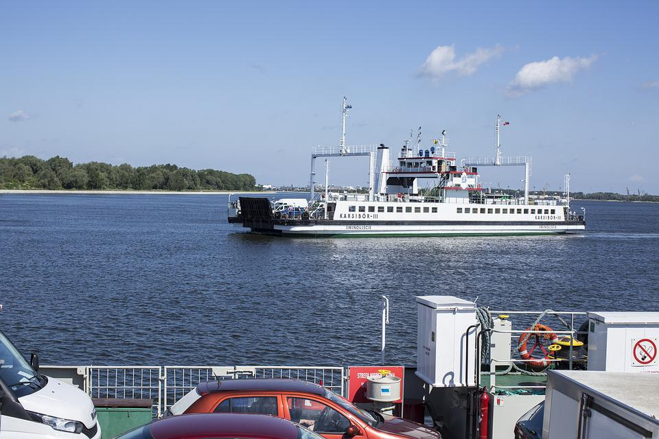 Free Photo Ferry Ship Car Ferry Crossing Free Image On