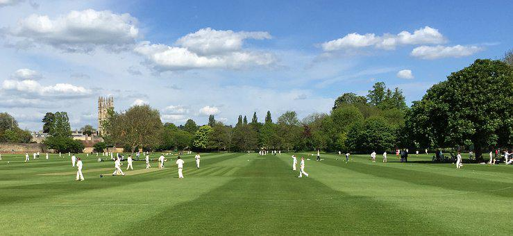 Uk, Oxford, Cricket, Colombie
