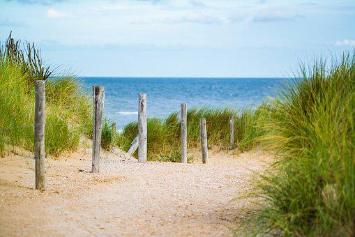 Thin, Sea, Fence, Water, Vacation