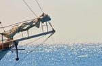 sailing vessel, jib boom
