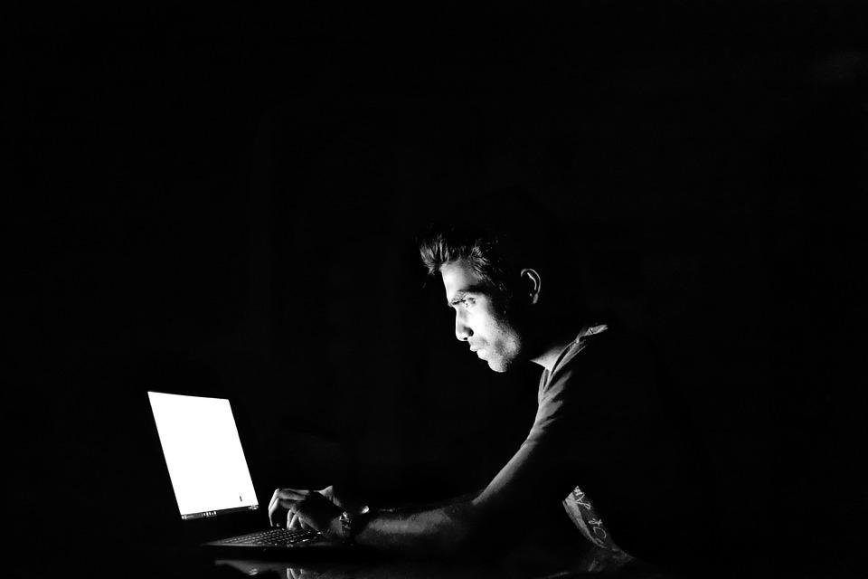 Hacking, Cyber, Blackandwhite, Crime, Security