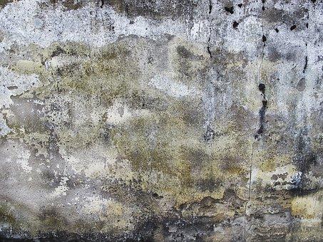Wand, Hintergrund, Verputz