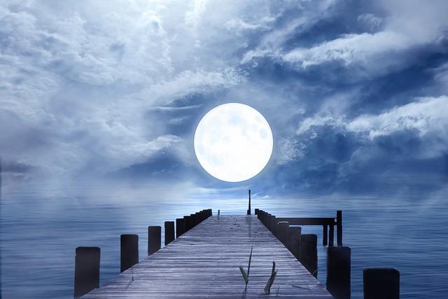 Good Night Full Moon Moonlight 183 Free Photo On Pixabay