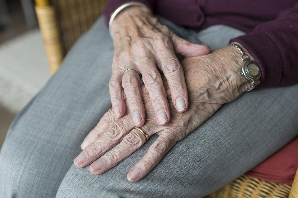 Hand, Hands, Old, Old Age, Ipad, Elderly, Loneliness