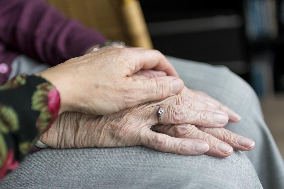 Hands, Old, Old Age, Elderly, Vulnerable, Care