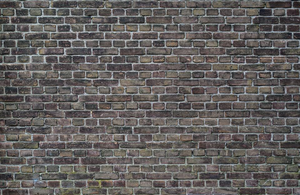 Brick, Wall, Old, Dark, Brick Wall