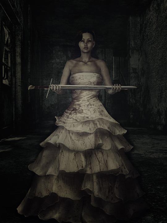 Frau Brautkleid Dark-Art · Kostenloses Foto auf Pixabay