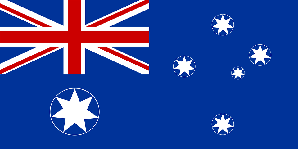 Image drapeau national australien