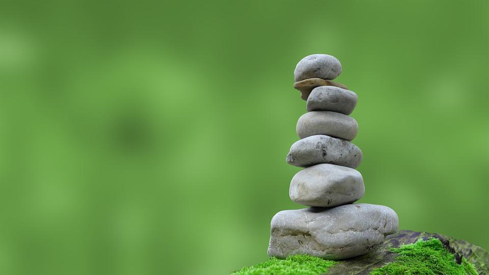 zen piedras pila meditacin rocas equilibrio - Piedras Zen