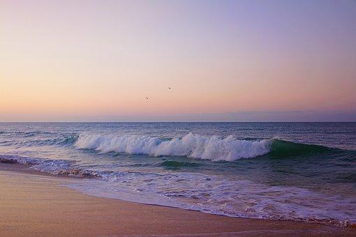 Faro, Portugal, Algarve, Am Strand