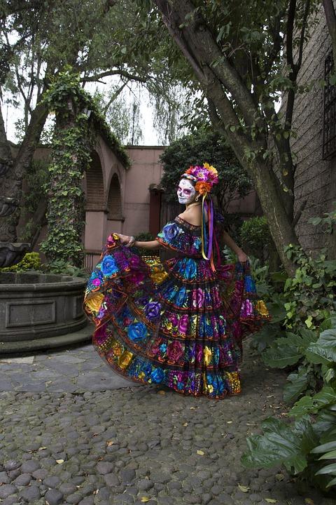 Catrina Vestido Foto Gratis En Pixabay