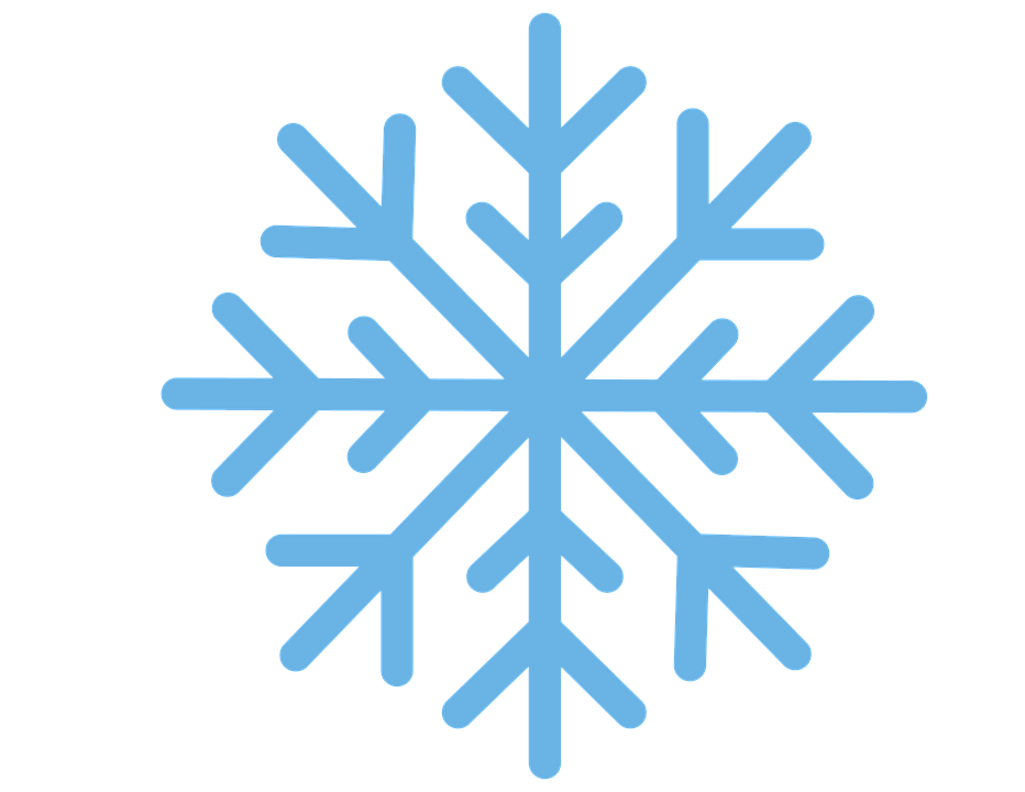Snowflake, Snow, Winter, Blue, Flake, Christmas, Cold