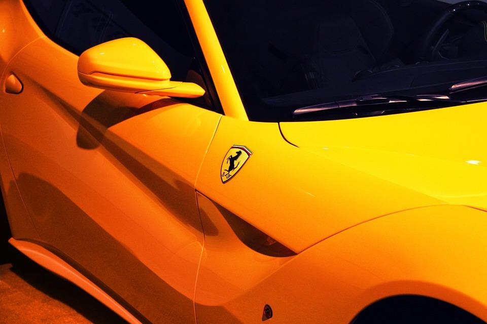 door exotic cars ferrari rear view mirror & Door Exotic Cars Ferrari Rear View · Free photo on Pixabay