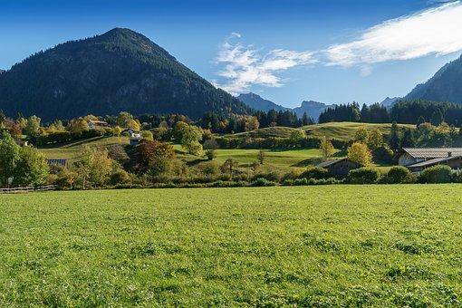 Oberstdorf, Suedwiesen, Allgäu, Alpen
