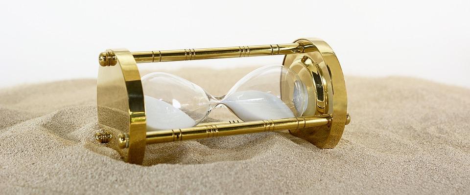 砂時計, クロック, 時間, 期間, 慌ただしさ, 急いで, 分, 後半, 秒, 年齢, はかなさ