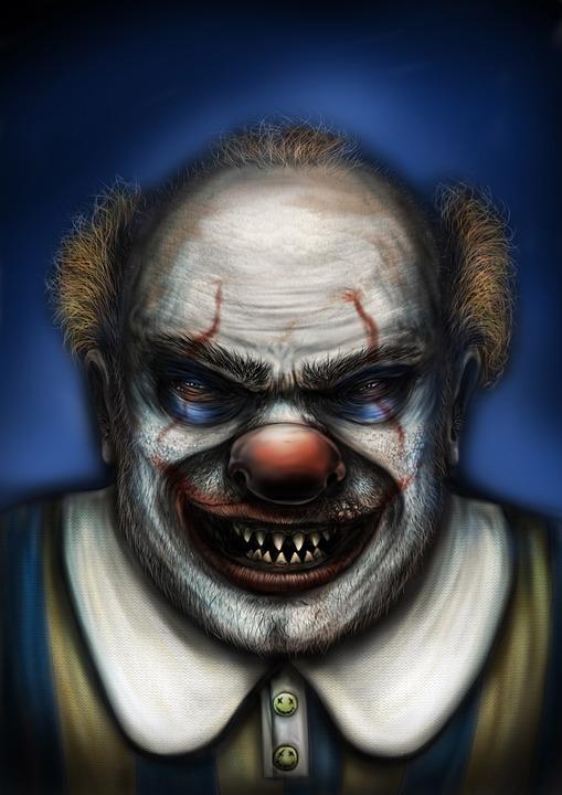 Free illustration: Halloween, Clown, Horror, Scary - Free Image on ...