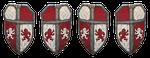 shield, armor, knight