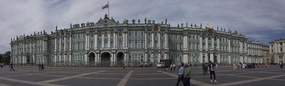 St Petersburg Vinterpaladset Gratis Foto På Pixabay