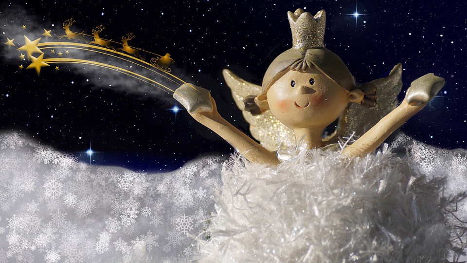 Weihnachtsgrüße Christkind.Engel Christkind Weihnachten Kostenloses Foto Auf Pixabay