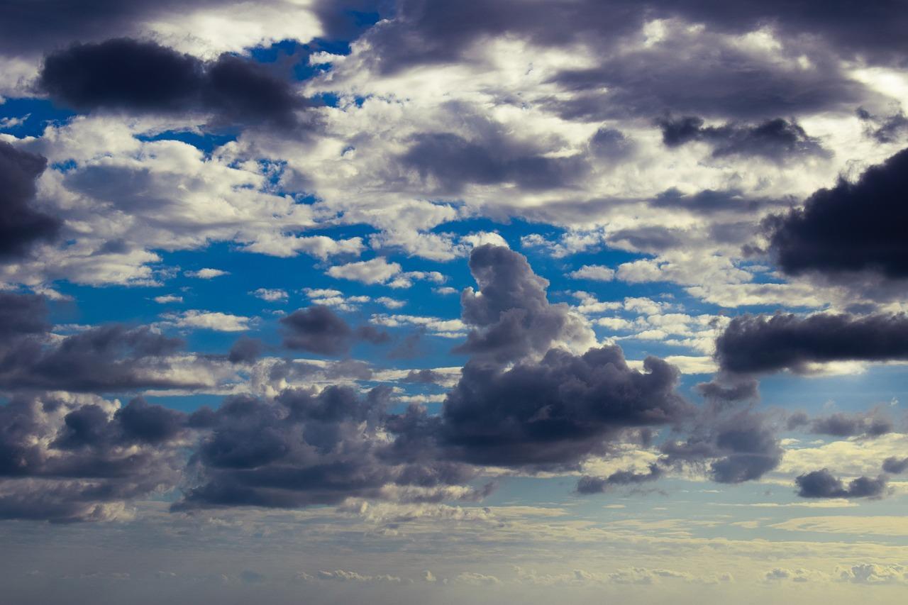 теплые облака картинки многие месяцы