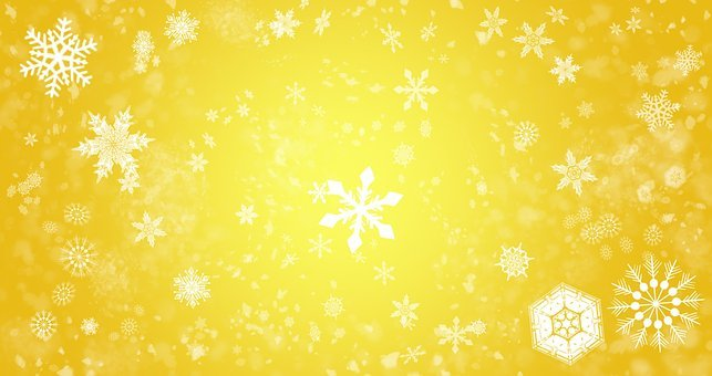 Snowflakes, The Background, Snow