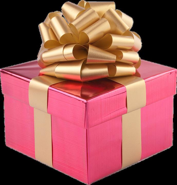 present gift box gold ribbon free photo on pixabay