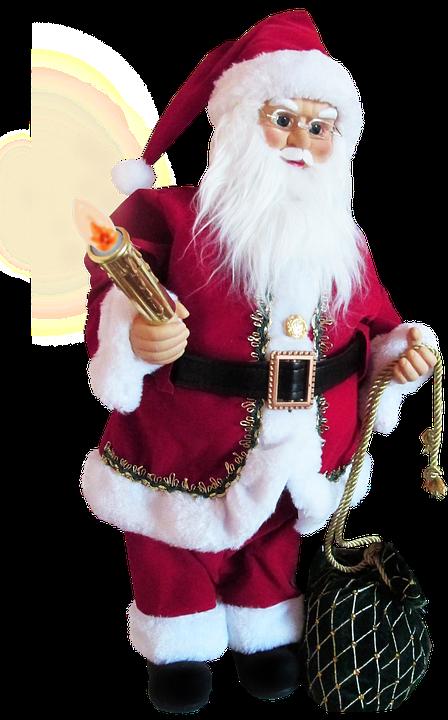 Ayah Natal Memegang Lilin Dekorasi Foto Gratis Di Pixabay