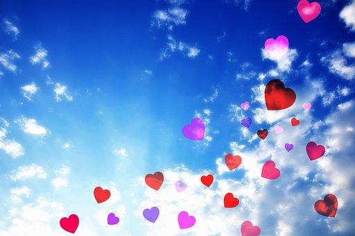 Herz, Symbol, Liebe, Dekoration