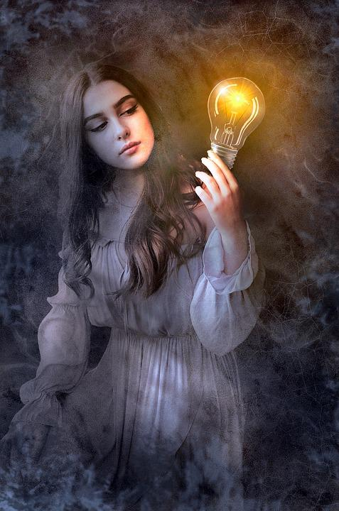 Book Cover Photography Lighting : Free photo fantasy book cover woman image on