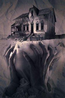 Fantasy, Book Cover, Home, Hands